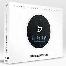 BLOCK B-[2016 LIVE CONCERT BLOCKBUSTER] DVD 2 DISC+64p Photo Book SEALED K-POP