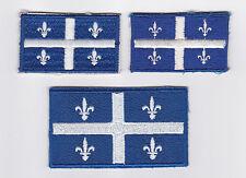 SCOUT OF CANADIAN - ASSOCIATION DES SCOUTS DU CANADA (ASC) QUEBEC FLAG Patch