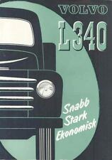 1951 Volvo L340 Truck Brochure Swedish wp3570-BSH9WD