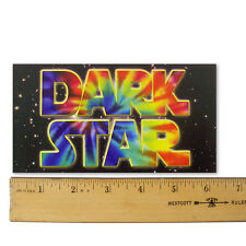 "Grateful Dead -Dark Star- Bumper Sticker 3¼""X6¼"""