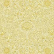 1 Roll DMORSU103 William Morris SUNFLOWER ETCH Wallpaper