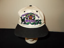 VTG-1990s Minnesota Moose IHL hockey #1 Apparel snapback hat sku28
