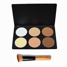 VALUE MAKERS 6 Colour Contour Kit - Face Contour Palette - Bronzing Powder Pa...