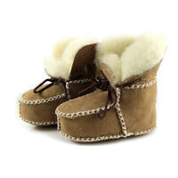 Surfer Baby Sheepskin Shearling Booties Wool Boots Infant/Toddler Shoes