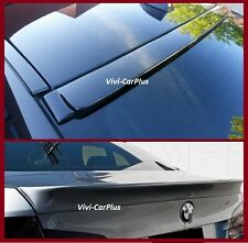 Pick Color AC Roof & Trunk Boot Spoiler Lip For 11-16 BMW F10 535i 550i M5 4Dr
