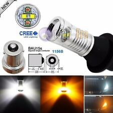 No Hyper Flash Bau15s 1156B Switchback CREE LED Bulb For Turn Signal Light / DRL