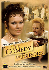 THE COMEDY OF ERRORS - DVD - REGION 2 UK