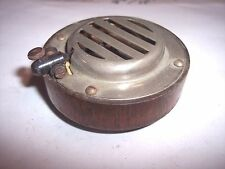 COOL PERFECTONE DISC PHONOGRAPH REPRODUCER WITH THE OUTSIDE MADE OUT OF WOOD