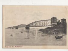 Brug Over Den Moerdijk Netherlands 1914 Postcard 697a