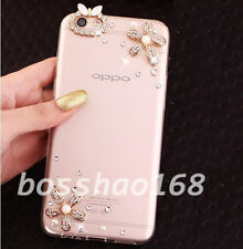 Bling Clear Diamonds Crystal TPU Soft Back Phone Case Cover Skin For Samsung K