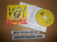 CD Indie Kissy SellOut - This Kiss (1 Song) Promo MARRAKESH