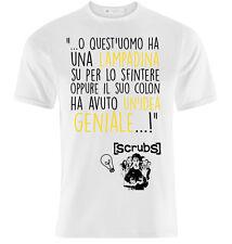 """T-Shirt con le frasi di Scrubs """"La lampadina"""", JD, Cox, Kelso, personalizzabile"""