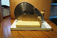 Vintage KYM Hand Powered Manual Meat Slicer Deli Cheese Vegetables