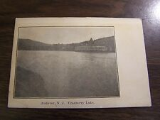 VINTAGE - ANDOVER N.J. - CRANBERRY LAKE - EXCELLENT USED