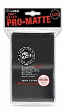 100 Bustine Protettive Ultra PRO Magic PRO MATTE STANDARD Black Nero Buste Deck