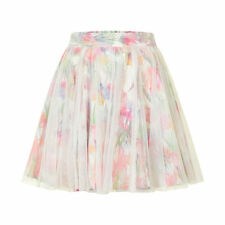 "BNWT""Creamie""GIRLS FLORAL SATIN & TULLE LAYERED SKIRT from DENMARK, AGE 5 YEARS"