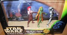 "Kenner  S/W  JABB  the  HUTTS   DANCERS   33/4"" ACTION    FIGURES  yr1998"