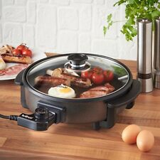 Electric Frying Pan Multi Cooker Caravan Cooking Easy Cook Non Stick Casserole