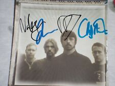 FOO FIGHTERS Classic CD Band Photo Personally signed w/ COA
