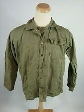 Vtg WWII WW2 HBT Donut Button Distressed Pow Mia Shirt Jacket Military Army 1940
