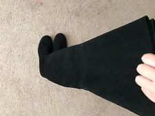 Auth. NWT. Stuart Weitzman Hilo Thigh High Suede Boots Black