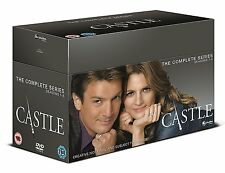"Castle Complete Season Series 1, 2, 3, 4, 5, 6, 7 & 8 DVD box set New ""on sale"""