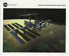 NASA Research on the International Space Station - LG-1998-02-455-HQ