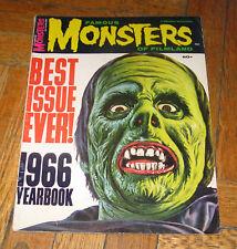 FAMOUS MONSTERS OF FILMLAND  1966   YEARBOOK   WARREN