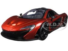 MCLAREN P1 ORANGE 1:24 DIECAST MODEL CAR BY MOTORMAX 79325