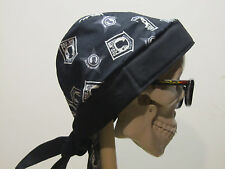 POW MIA Skull Cap Do Rag w/sweatband You Are Not Forgotten MADE IN USA!