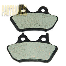 Rear Carbon Kevlar Brake Pads - 2000 2001 2002 Harley FXDS-CON Dyna Convertible