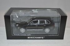 Minichamps Porsche Cayenne turbo 2002 black 1:43 mint in box