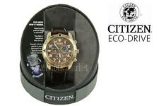 NEW Mens Citizen BL5473-08X Eco-Drive Perpetual Calendar Solar Chronograph Watch