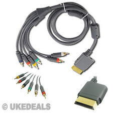 4m Audio Video Chapado En Oro Hd Componente 6 Rca Av Tv Hdtv Lead Cable Para Xbox 360