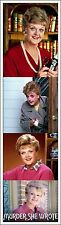 MURDER SHE WROTE BOOKMARK ANGELA LANSBURY