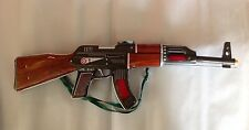 Vintage Me 614 Automatic Battery Operated Tin Toy Rifle Gun China