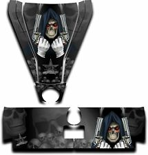 Graphic Decal Kit Canam Commander Can Am Hood Tailgate Reaper Revenge Black