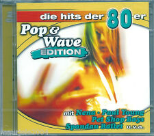 Pop & Wave 80 Edition *2 (2004) 2 CD NUOVO Men At Work. Down under. Toto. Africa