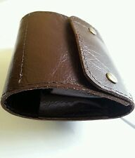.270/25.06/30.06/7x57/6.5x55/7x 64. Bullet wallet. Brown real leather. 10 round.