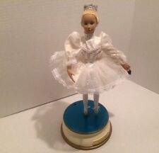 "Vintage working 17"" Tall Nutcracker Suite Dancing Ballerina Light~Music~"