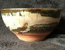 Chawan Bowl, Japanese Tea Ceremony, Oribe Glaze Bowl
