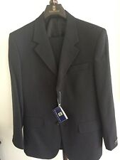 New European Design Black Stripe  Men's Suit , size 36R