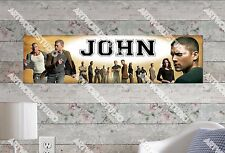 Personalized/Customized Prison Break Name Poster Wall Art Decoration Banner