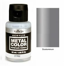 VAL77702 Metal Color - Duraluminium 32ml   VALLEJO AIRBRUSH COLORS