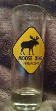 Moose Xing Vermont Tall Shot Glass