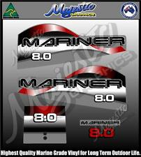 MARINER 8hp - DECAL SET - OUTBOARD DECALS