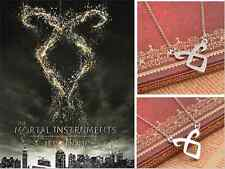 Vintage Silver The Mortal Instruments City of Bones Angelic Power Rune Necklace