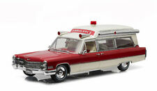 Greenlight Collectibles 1966 Cadillac S&S 48 High Top Ambulance 1/18