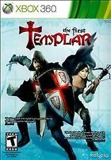 The First Templar GAME (Xbox 360) **FREE SHIPPING!!