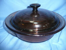 Vision Ware  V-32-B 1.5 QT. Casserole with Lid MINT